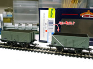 Bachmann 8 Plank End Door Wagon